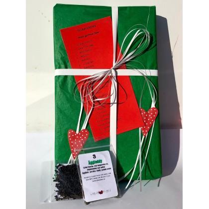 Julkalender med 24 Gröna Teer